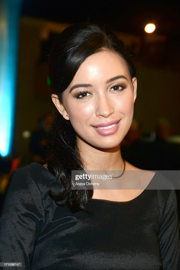 Christian Serratos at The Thirst Project 4th annual gala and performance at The Beverly Hilton Hotel on June 25, 2013 in Beverly Hills, California.