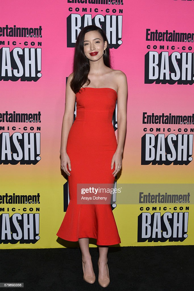 Christian Serratos attends Entertainment Weekly's ComicCon Bash held at Float at Hard Rock Hotel San Diego on July 23 2016 in San Diego California