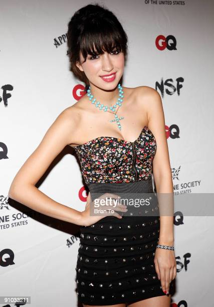 Christian Serratos attends NSF and GQ Magazine Join Forces To Stop Puppy Mills Humane Society Benefit on September 22 2009 in Beverly Hills California