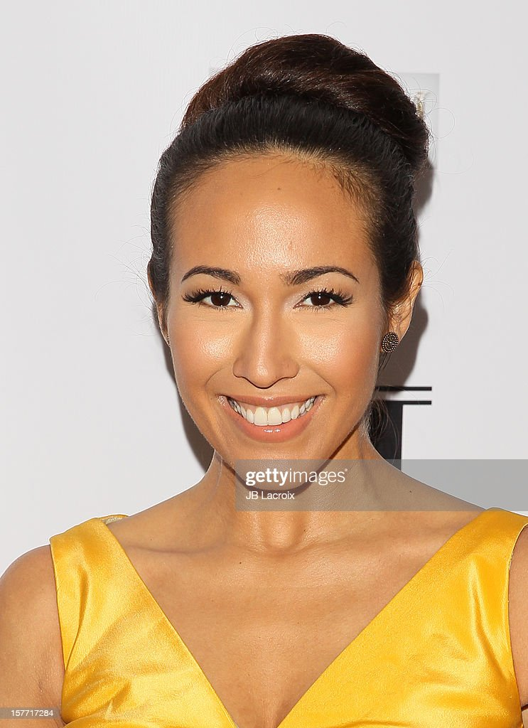 Christian Serratos attends the Kevan Hall Presents His Spring 2013 Collection on December 5, 2012 in Los Angeles, California.