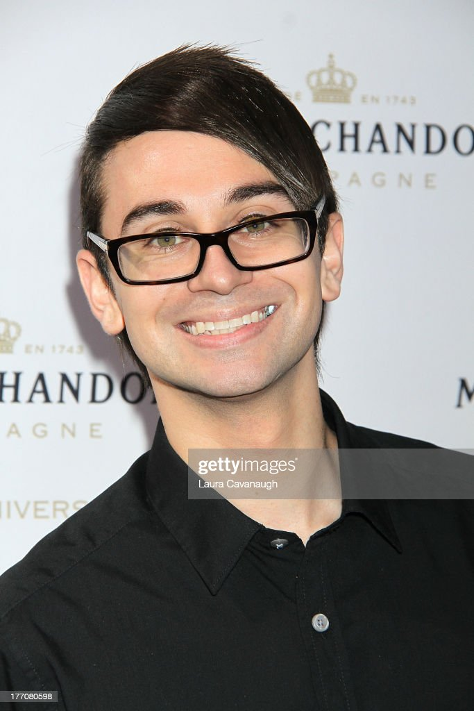 Christian Siriano attends the Moet & Chandon 270th Anniversary at Pier 59 Studios on August 20, 2013 in New York City.