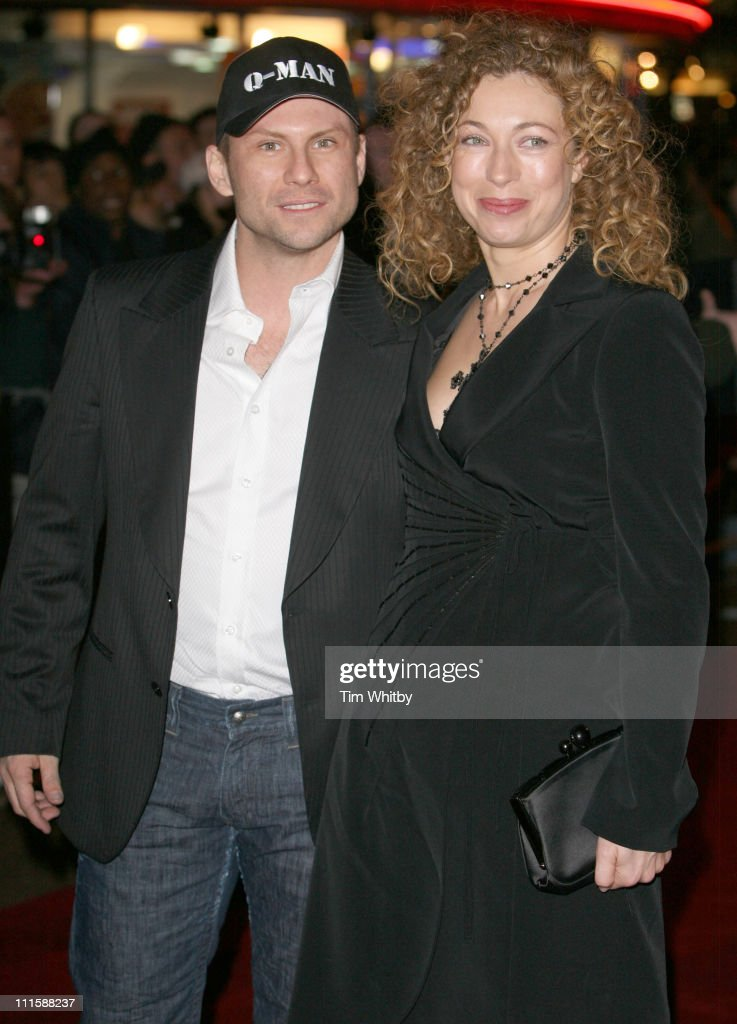Christian Slater and Alex Kingston during 'Basic Instinct 2: Risk Addiction' World Premiere - Outside Arrivals at Vue Leicester Square in London, Great Britain.