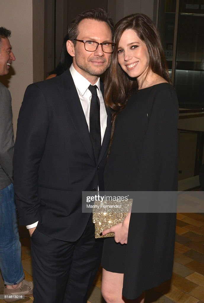 Christian Slater and Brittany Slater attends Destination Fashion 2016 to benefit The Buoniconti Fund to Cure Paralysis, the fundraising arm of The Miami Project to Cure Paralysis at Bal Harbour Shops on March 5, 2016 in Miami, Florida.