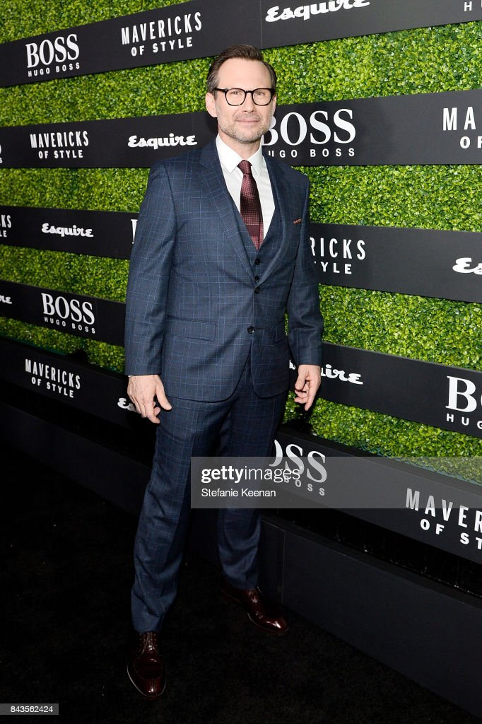 Christian Slater attends Esquire Celebrates September Issue's 'Mavericks of Style' Presented by Hugo Boss at Chateau Marmont on September 6, 2017 in Los Angeles, California.