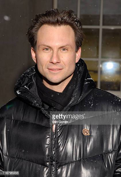 Christian Slater during 2007 Sundance Film Festival 'Slipstream' Premiere at Library Center Theatre in Park City Utah United States