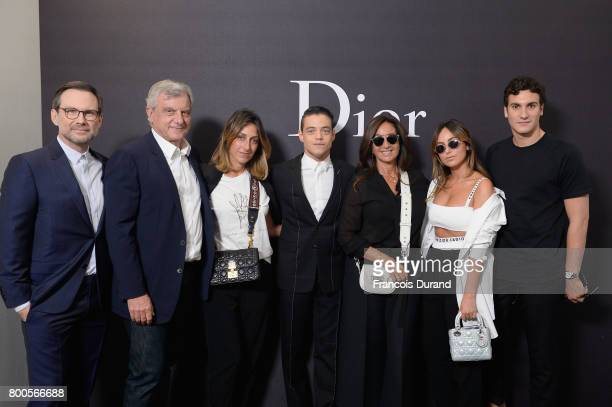 Christian Slater Sidney Toledano guest Rami Malek and Guests attend the Dior Homme Menswear Spring/Summer 2018 show as part of Paris Fashion Week on...