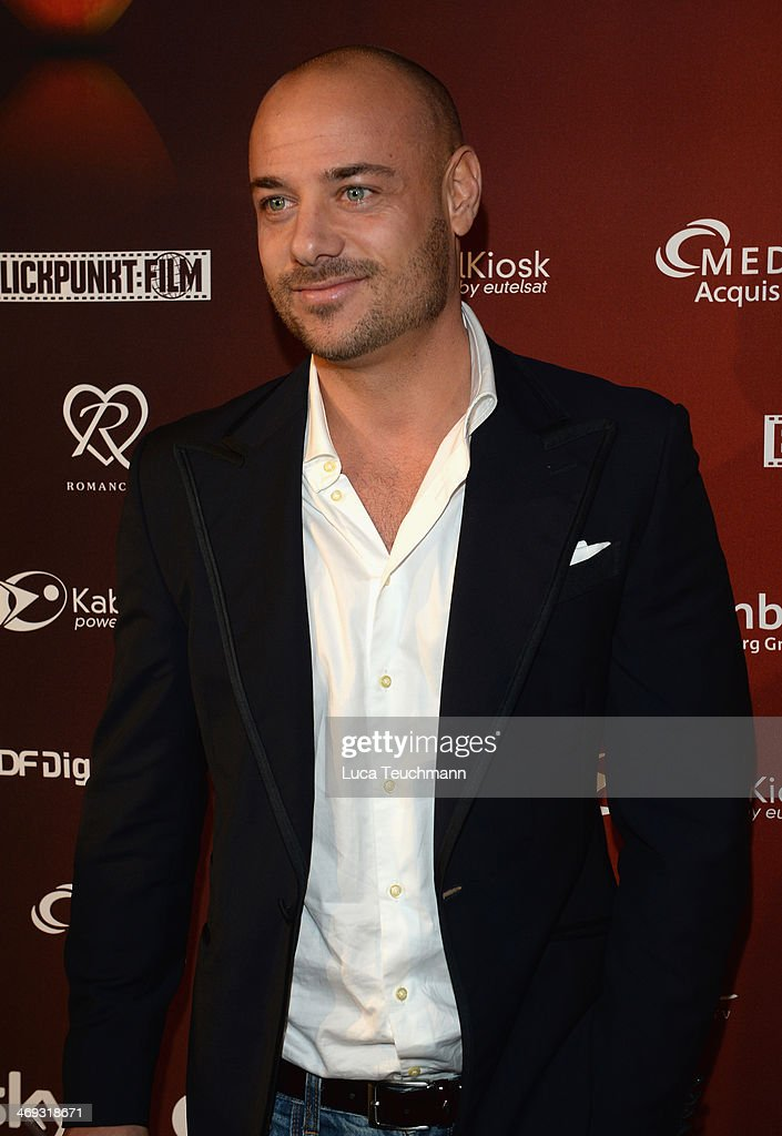 Christian Tews from the TV Show 'The Bachelor 2014' attends the Blaue Blume Awards during 64th Berlinale International Film Festival on February 14, 2014 in Berlin, Germany.