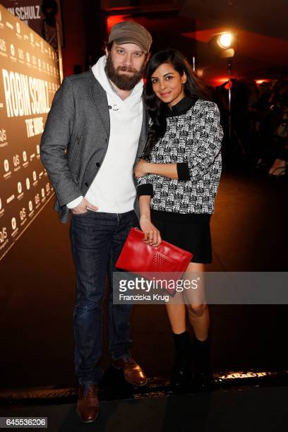 Christian Ulmen and Collien UlmenFernandes attend the 'Robin Schulz The Movie' world premiere at Cinemaxx on February 24 2017 in Hamburg Germany
