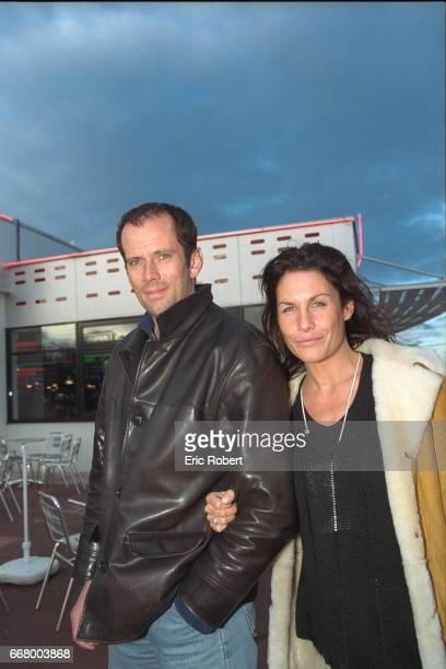 Christian Vadim with Astrid Veillon actress