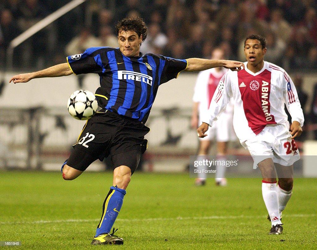 Christian Vieri of Inter Milan