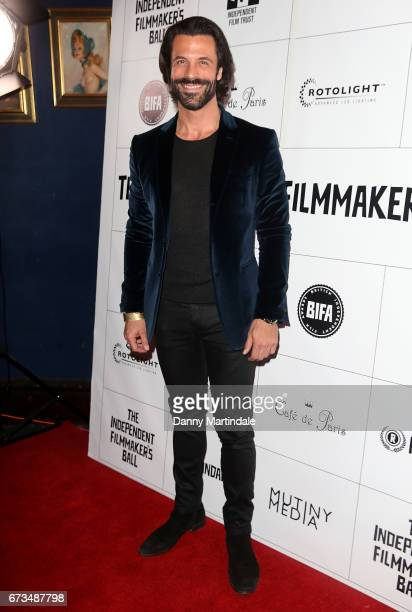 Christian Vit attends the Independent Filmmaker's Ball on April 26 2017 in London United Kingdom