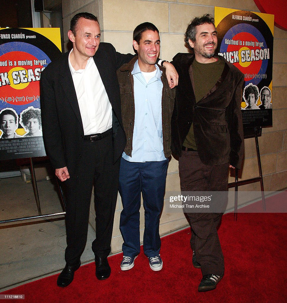 Christian Vladelievre, Producer, Fernando Eimbcke, Director, and Alfonso Cuaron