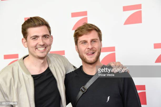 Christian Wacker and Maurice Gajda attend the premiere of the television show 'This Is Us Das ist Leben' at Zoo Palast on May 11 2017 in Berlin...