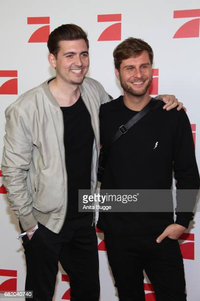 Christian Wackert and Maurice Gajda attend the premiere of the television show 'This Is Us Das ist Leben' at Zoo Palast on May 11 2017 in Berlin...