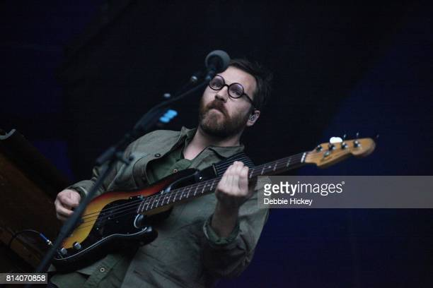 Christian Wargo of Fleet Foxes performing live on stage at Iveagh Gardens on July 13 2017 in Dublin Ireland