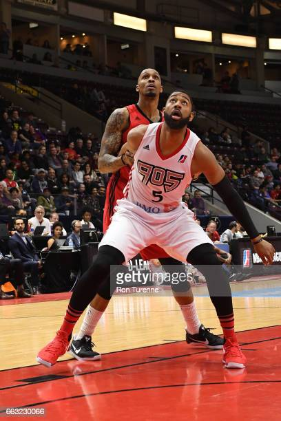 Christian Watford of the Raptors 905 waits for a rebound against the Windy City Bulls on March 30 2017 in Mississauga Ontario Canada NOTE TO USER...