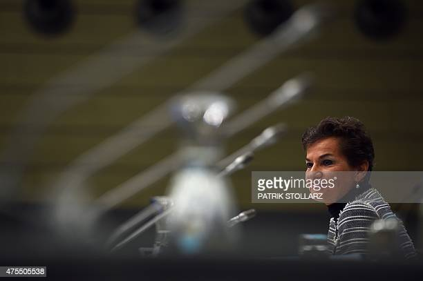 Christiana Figueres Executive Secretary of the United Nations Framework Convention on Climate Change attends the United Nations Framework Convention...