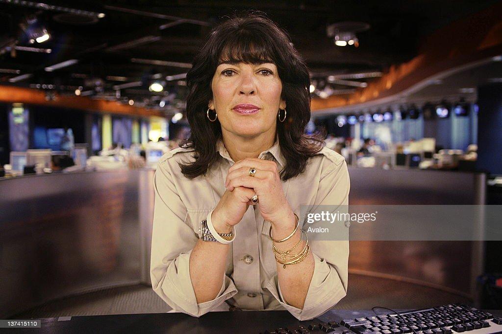 Christiane Amanpour, CNN's chief international correspondent at CNN's london studio.