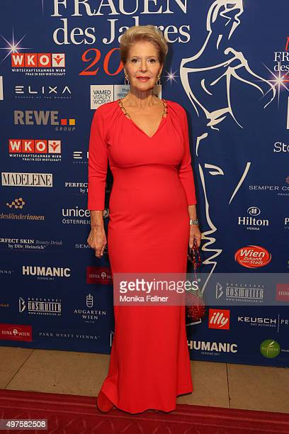 Christiane Hoerbiger attends the Look Women Of The Year Awards 2015 at the city hall on November 17 2015 in Vienna Austria