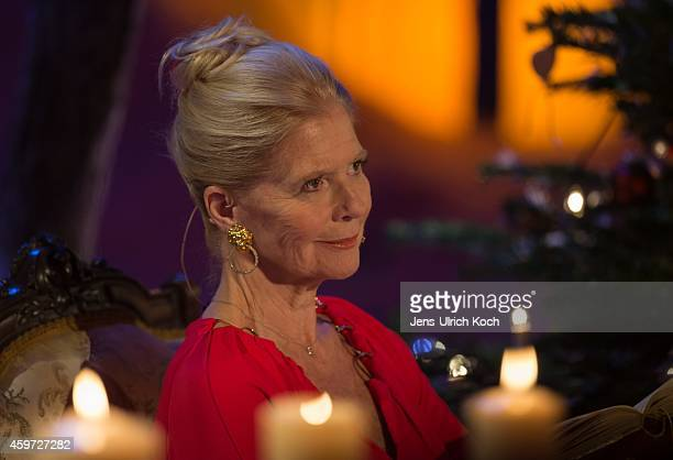 Christiane Hoerbiger performs during the TVShow 'Das Adventsfest der 100000 Lichter' on November 29 2014 in Suhl Germany