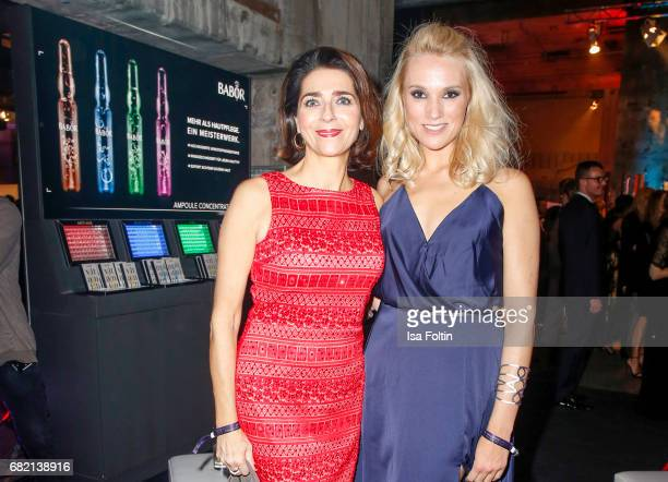 Christiane Lingner and Musical star Anna Hofbauer attend the Duftstars at Kraftwerk Mitte on May 11 2017 in Berlin Germany