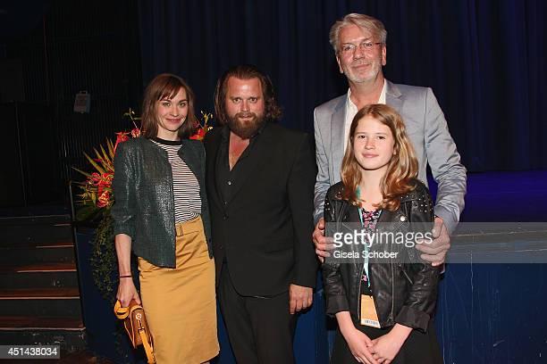 Christiane Paul Antoine Monot Jr Director Thomas Heinemann and Tabea Hanstein attend the 'Lola auf der Erbse' Premiere as part of Filmfest Muenchen...