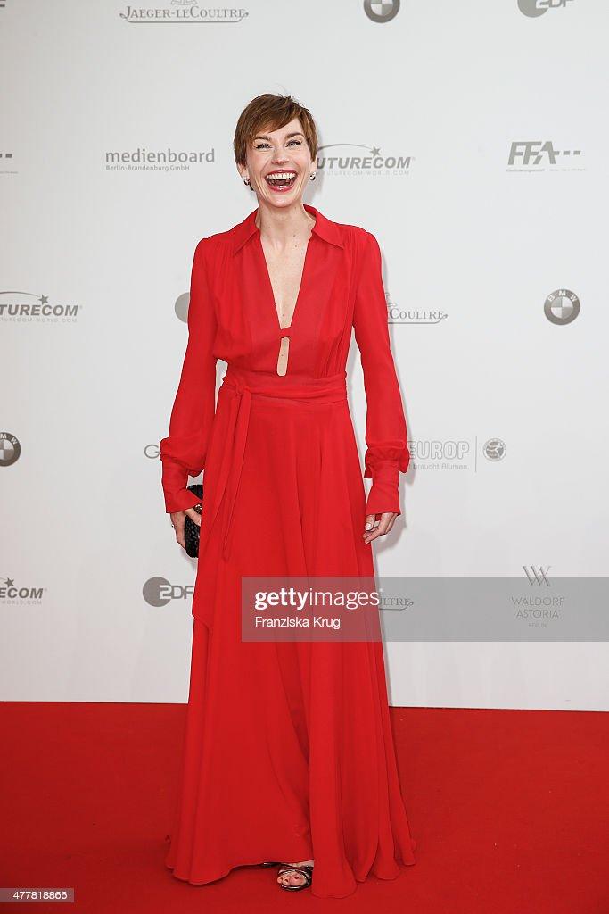Christiane Paul attends the German Film Award 2015 Lola (Deutscher Filmpreis) at Messe Berlin on June 19, 2015 in Berlin, Germany.