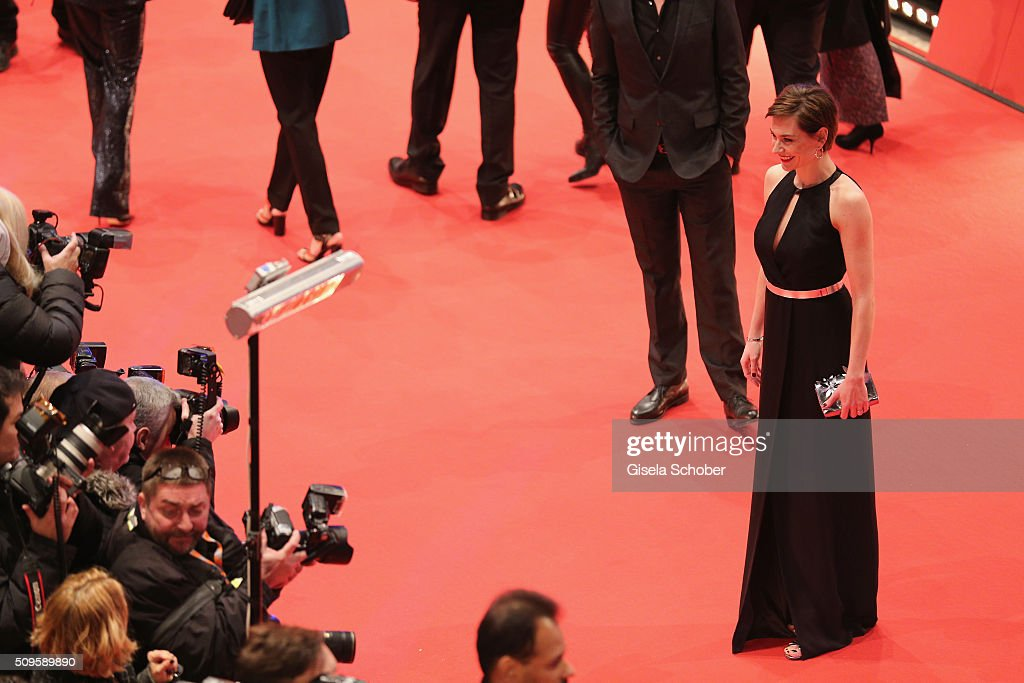 <a gi-track='captionPersonalityLinkClicked' href=/galleries/search?phrase=Christiane+Paul&family=editorial&specificpeople=220598 ng-click='$event.stopPropagation()'>Christiane Paul</a> attends the 'Hail, Caesar!' premiere during the 66th Berlinale International Film Festival Berlin at Berlinale Palace on February 11, 2016 in Berlin, Germany.