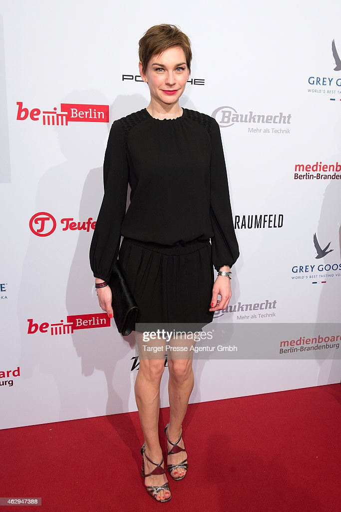 Christiane Paul attends the Medienboard Berlin-Brandenburg Reception at Ritz Carlton on February 7, 2015 in Berlin, Germany.
