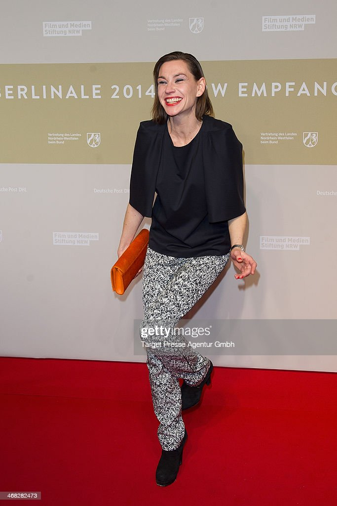<a gi-track='captionPersonalityLinkClicked' href=/galleries/search?phrase=Christiane+Paul&family=editorial&specificpeople=220598 ng-click='$event.stopPropagation()'>Christiane Paul</a> attends the NRW Reception at the Landesvertretung on February 9, 2014 in Berlin, Germany.