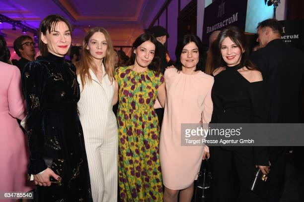 Christiane Paul Lilith Stangenberg Nicolette Krebitz Jasmin Tabatabai and Iris Berben attend the Medienboard BerlinBrandenburg Reception during the...