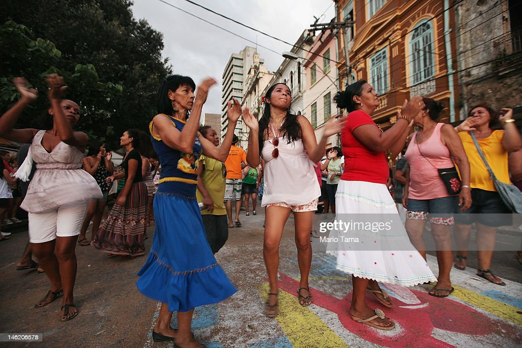 Christians celebrate the holiday of Corpus Christi on June 7 2012 in Belem Brazil Belem is considered the entrance gate to the Amazon and for more...