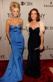 Christie Brinkley and Andrea McArdle attend the 65th Annual Tony Awards at the Beacon Theatre on June 12 2011 in New York City