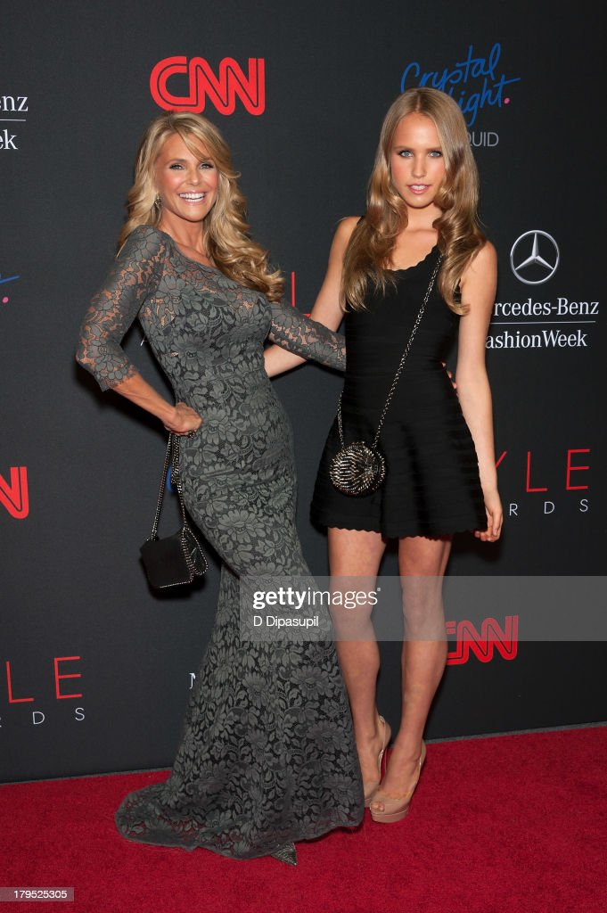 <a gi-track='captionPersonalityLinkClicked' href=/galleries/search?phrase=Christie+Brinkley&family=editorial&specificpeople=204151 ng-click='$event.stopPropagation()'>Christie Brinkley</a> (L) and daughter Sailor Cook attend the 2013 Style Awards at Lincoln Center on September 4, 2013 in New York City.
