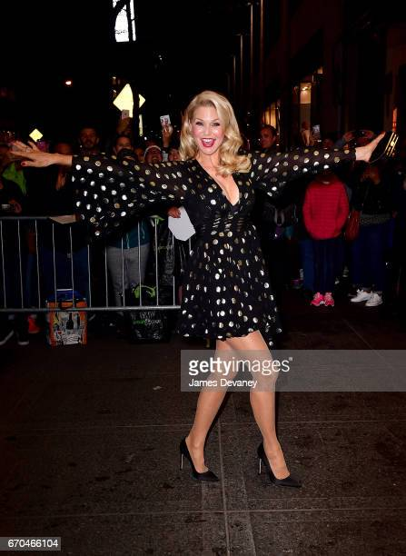 Christie Brinkley arrives to Harper's BAZAAR 150th Anniversary Event at The Rainbow Room on April 19 2017 in New York City