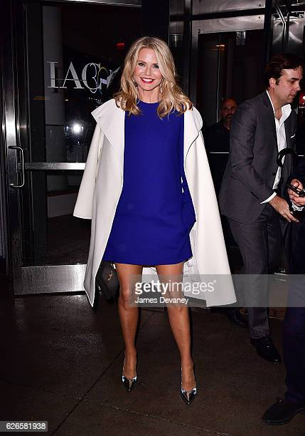 Christie Brinkley arrives to the 30th FN Achievement Awards at IAC Headquarters on November 29 2016 in New York City