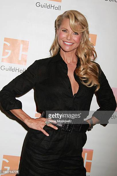 Christie Brinkley attends Celebrity Autobiography at Guild Hall on August 24 2012 in East Hampton New York