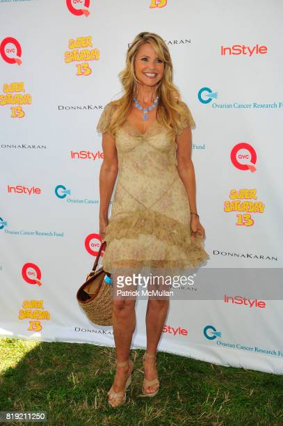 Christie Brinkley attends Donna Karan Ariel Foxman InStyle Along With Kelly Ripa Ashley Greene Present Super Saturday 13 at Nova's Ark Project on...