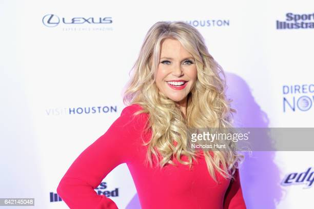 Christie Brinkley attends Sports Illustrated Swimsuit 2017 NYC launch event at Center415 Event Space on February 16 2017 in New York City