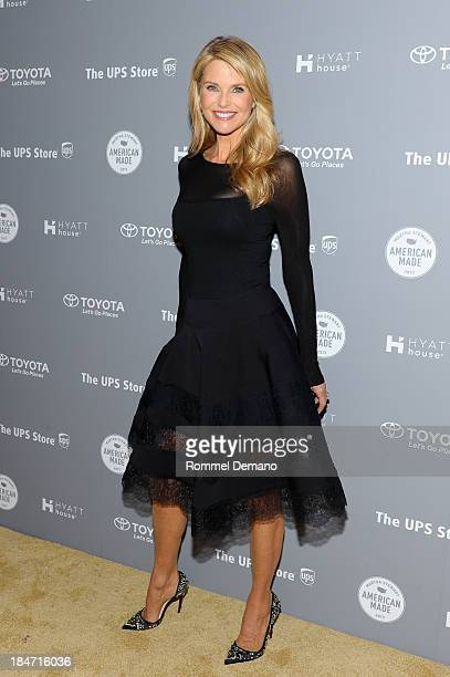 Christie Brinkley attends the 2nd annual 'American Made' Awards at Vanderbilt Hall at Grand Central Terminal on October 15 2013 in New York City