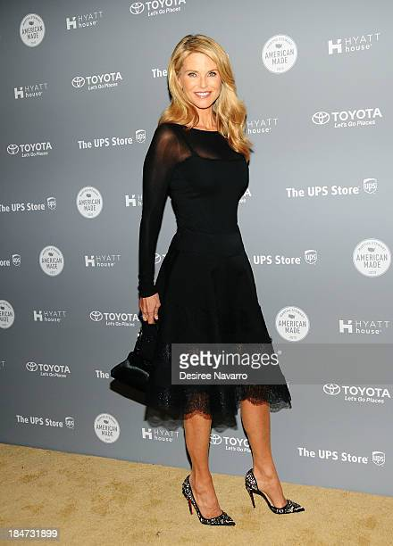 Christie Brinkley attends the 2nd annual American Made Awards at Vanderbilt Hall at Grand Central Terminal on October 15 2013 in New York City
