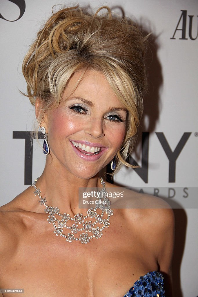 Christie Brinkley attends the 65th Annual Tony Awards at the Beacon Theatre on June 12, 2011 in New York City.