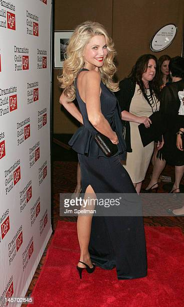 Christie Brinkley attends the Dramatists Guild Fund's 50th Anniversary Gala at the Mandarin Oriental Hotel on June 3 2012 in New York City