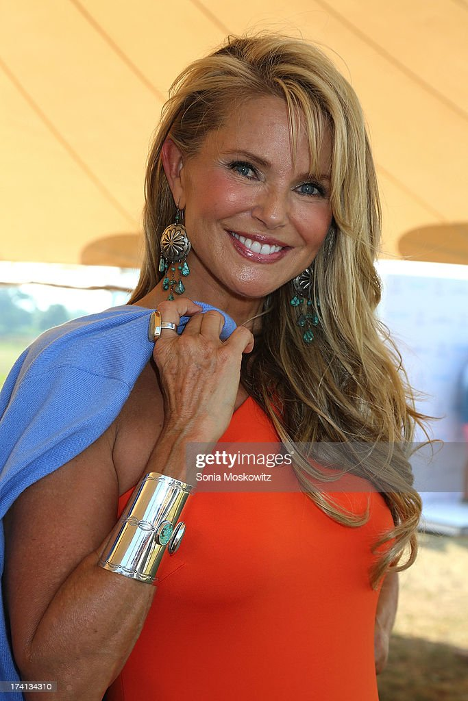 <a gi-track='captionPersonalityLinkClicked' href=/galleries/search?phrase=Christie+Brinkley&family=editorial&specificpeople=204151 ng-click='$event.stopPropagation()'>Christie Brinkley</a> attends the opening day of the Bridgehampton Polo Club's 17th Season at the Bridgehampton Polo Club on July 20, 2013 in Bridgehampton, New York.
