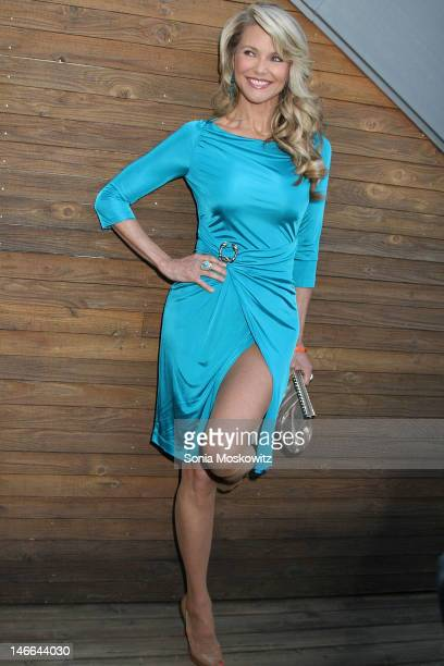 Christie Brinkley attends the South Fork Natural History Museum Honoring Christie Brinkley at South Fork Natural History Museum on June 16 2012 in...
