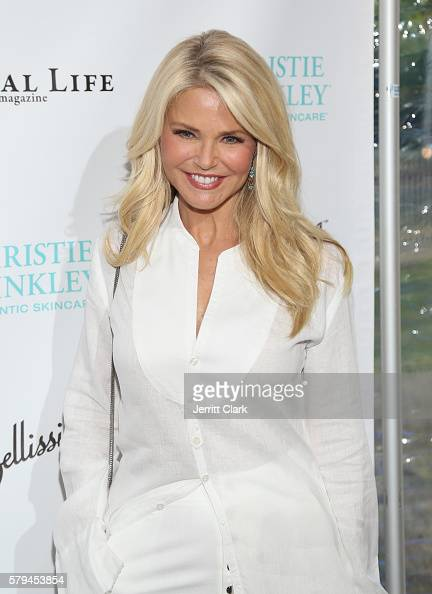 Christie Brinkley attends the St Barth Hamptons Gala Presented by Social Life Magazine at Bridgehampton Historical Society on July 24 2016 in...
