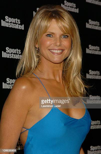 Christie Brinkley during 2004 Sports Illustrated Swimsuit Issue 40th Anniversary Edition at Club Deep in New York City New York United States