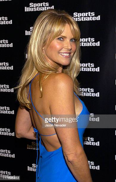 Christie Brinkley during 2004 Sports Illustrated Swimsuit Issue Press Conference at Club Deep in New York City New York United States