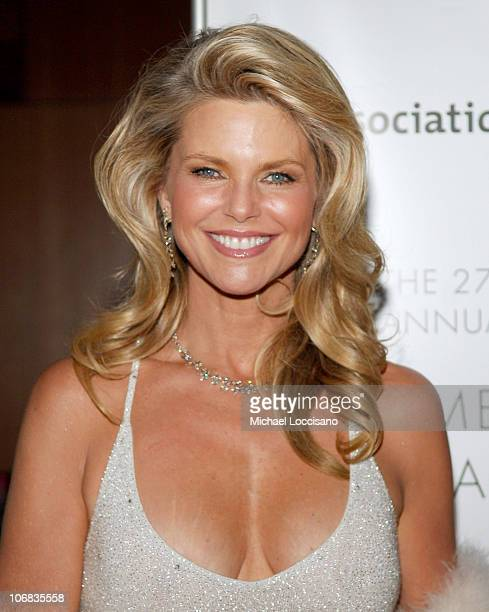 Christie Brinkley during 2005 AAFA American Image Awards to Benefit the Rita Hayworth Fund of the Alzheimers Association at The Grand Hyatt Hotel in...