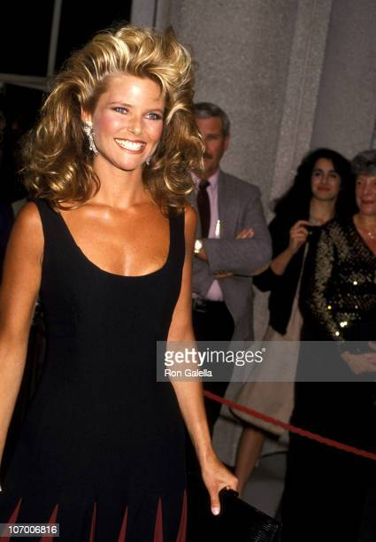 Christie Brinkley during 56th Annual Academy Awards at Dorothy Chandler Pavilion in Los Angeles California United States